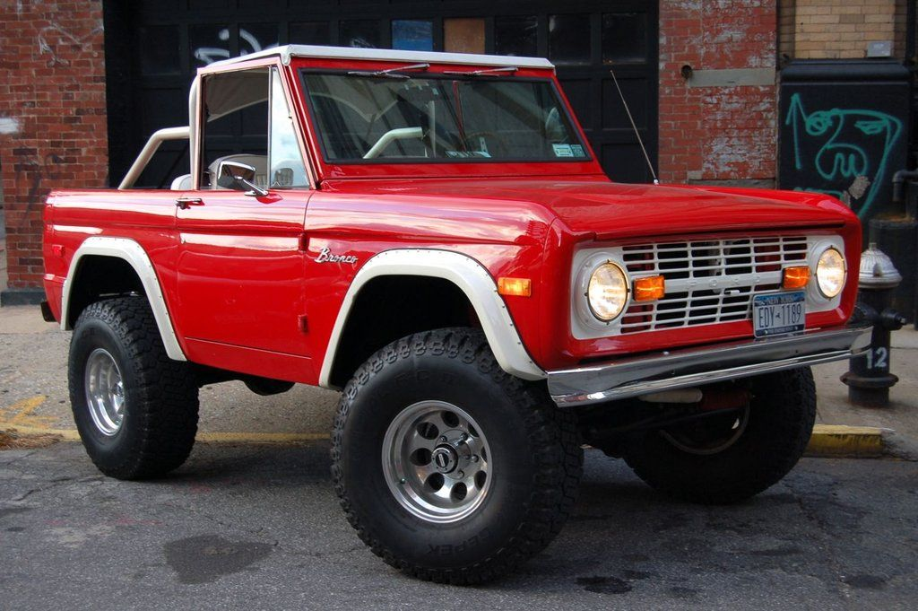 Ford : Bronco 2Dr | Ford bronco, Ford and Cars