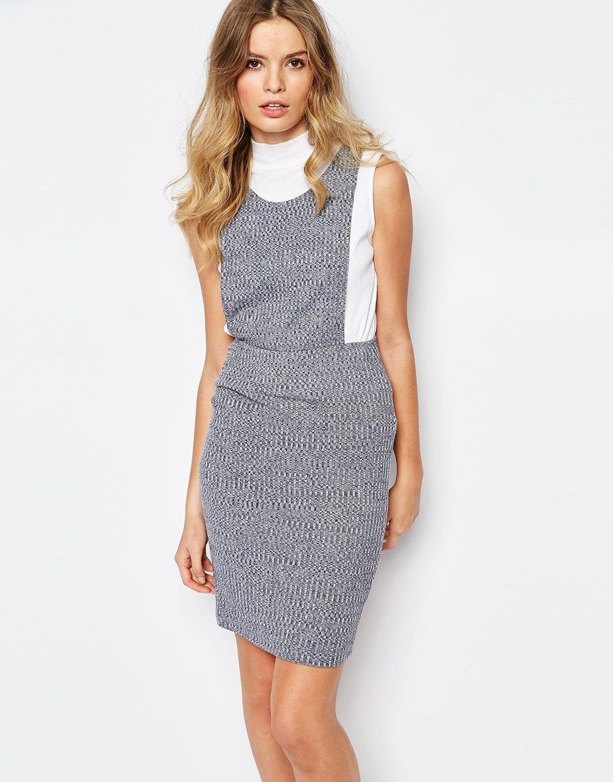First and I Pinafore Dress