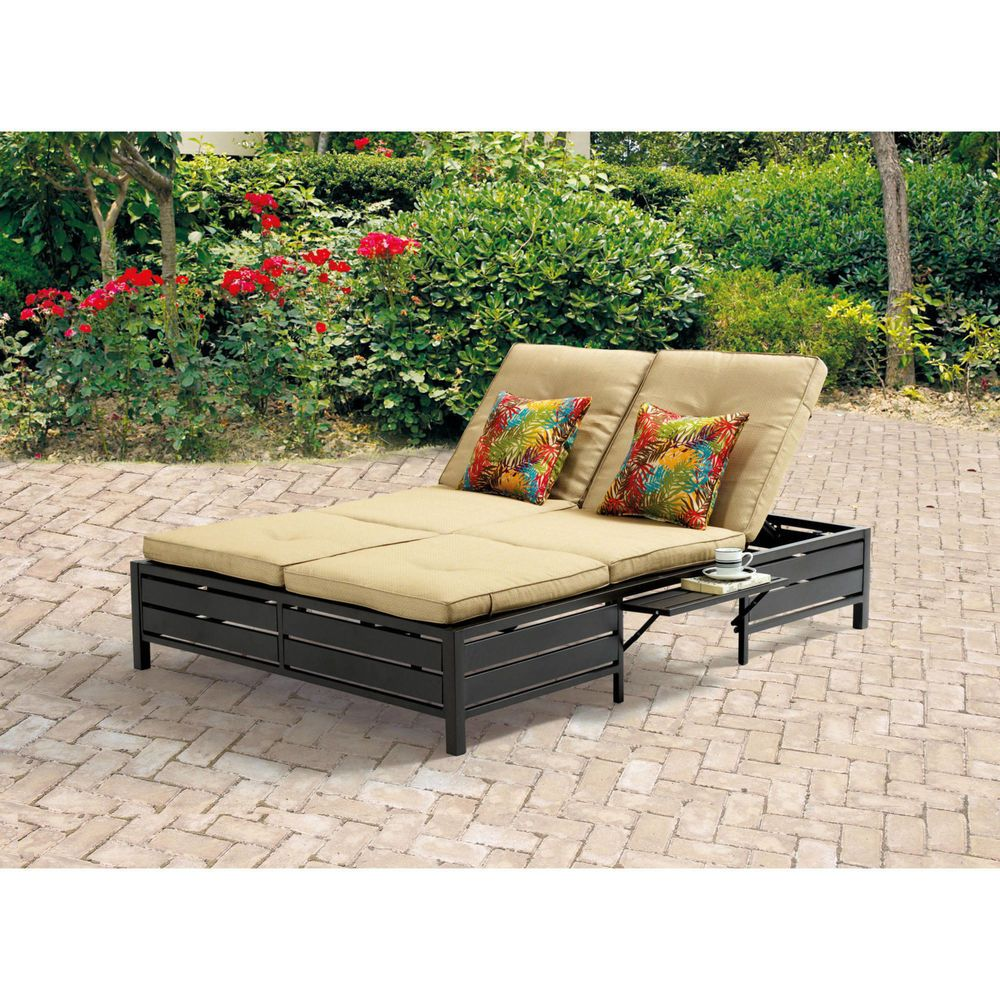 Double Chaise Lounge Chair Double Chaise Lounge Outdoor Wicker Chaise Lounge Outdoor Chaise Lounge