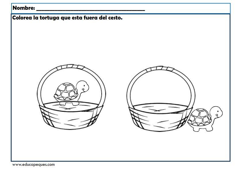 Fichas conceptos básicos para trabajar en educación infantil ...