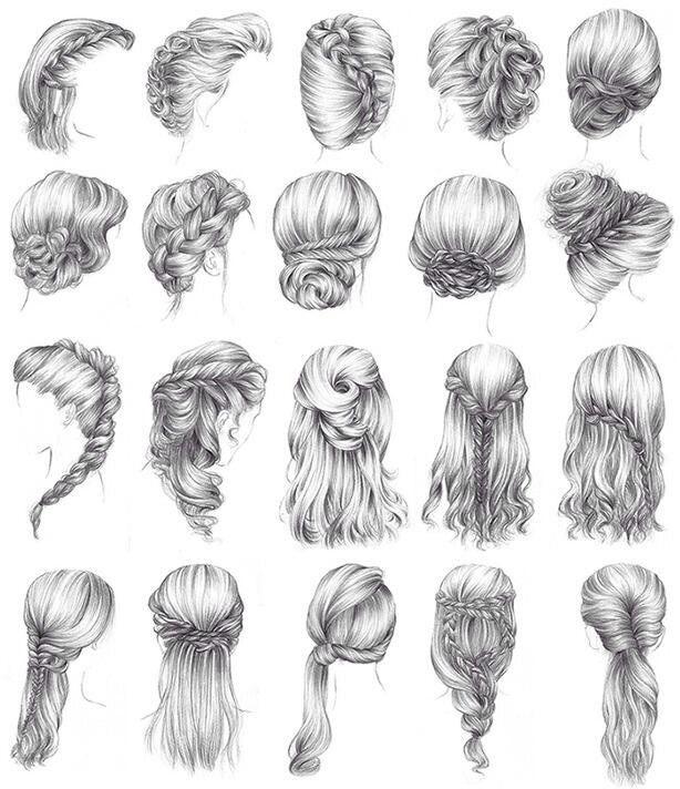 Medieval Hair Styles For The Ladies Peinados Medievales Cabello De Mujer Dibujos De Peinados