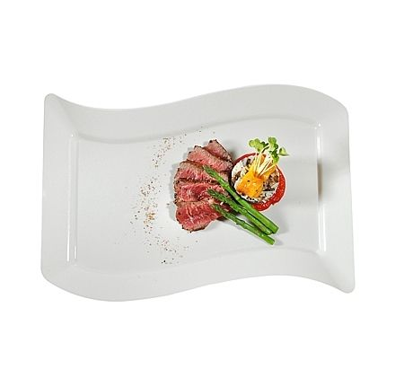 Fancy Bone 10  Rectangular Plastic Dinner Plates  sc 1 st  Pinterest & Fancy Bone 10