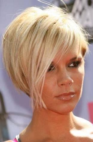 sarı kısa saç modelleri Style de cheveux courts, Cheveux