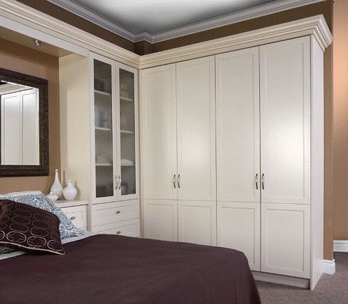 Wardrobe Unit With Bed Surround By OrganizedInteriors, Via Flickr