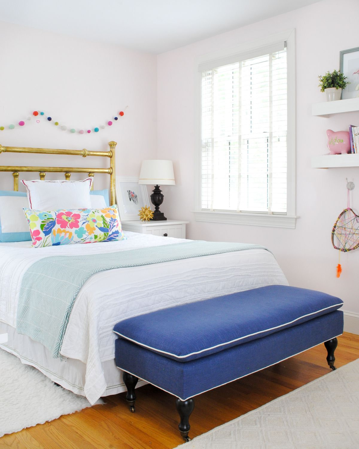 Big Bedrooms For Girls big girl bedroom update  new mattress and bedding | pink accents