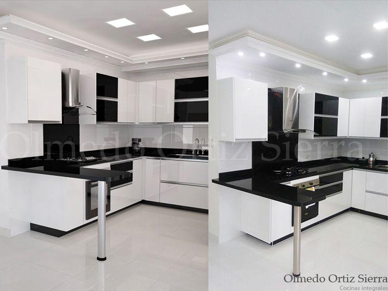 Diseño vs Cocina Real Cocina moderna Personalizada - remodelacion de cocinas
