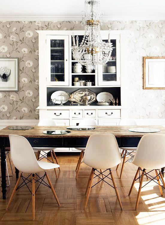 eames dsw wei esszimmerst hle. Black Bedroom Furniture Sets. Home Design Ideas