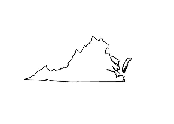 Outline Map Of Virginia.Virginia Outline Map I M Getting This Tattoo D Diy Pinterest