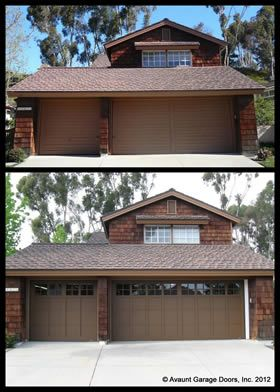 Avaunt Garage Doors Inc. Custom Garage Door Installation Serving The Orange  County Area Since Gallery Of Before And After Projects, California