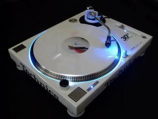 Pair of technics sl-1200gld 30th anniversary limited edition.