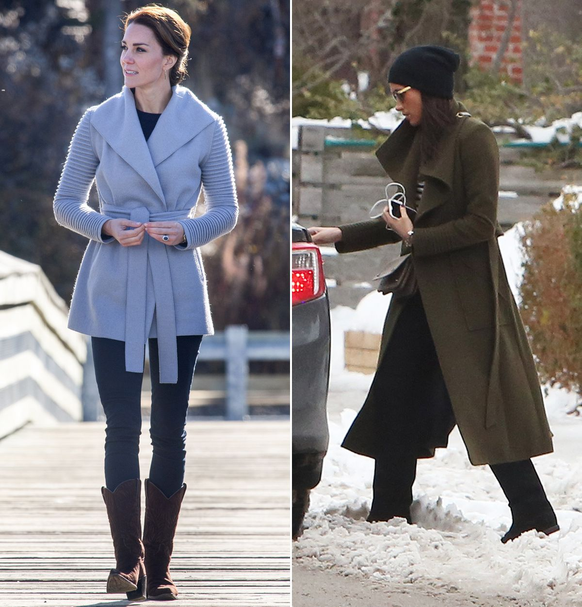 Kate Middleton And Meghan Markle Have The Same Favorite Coat