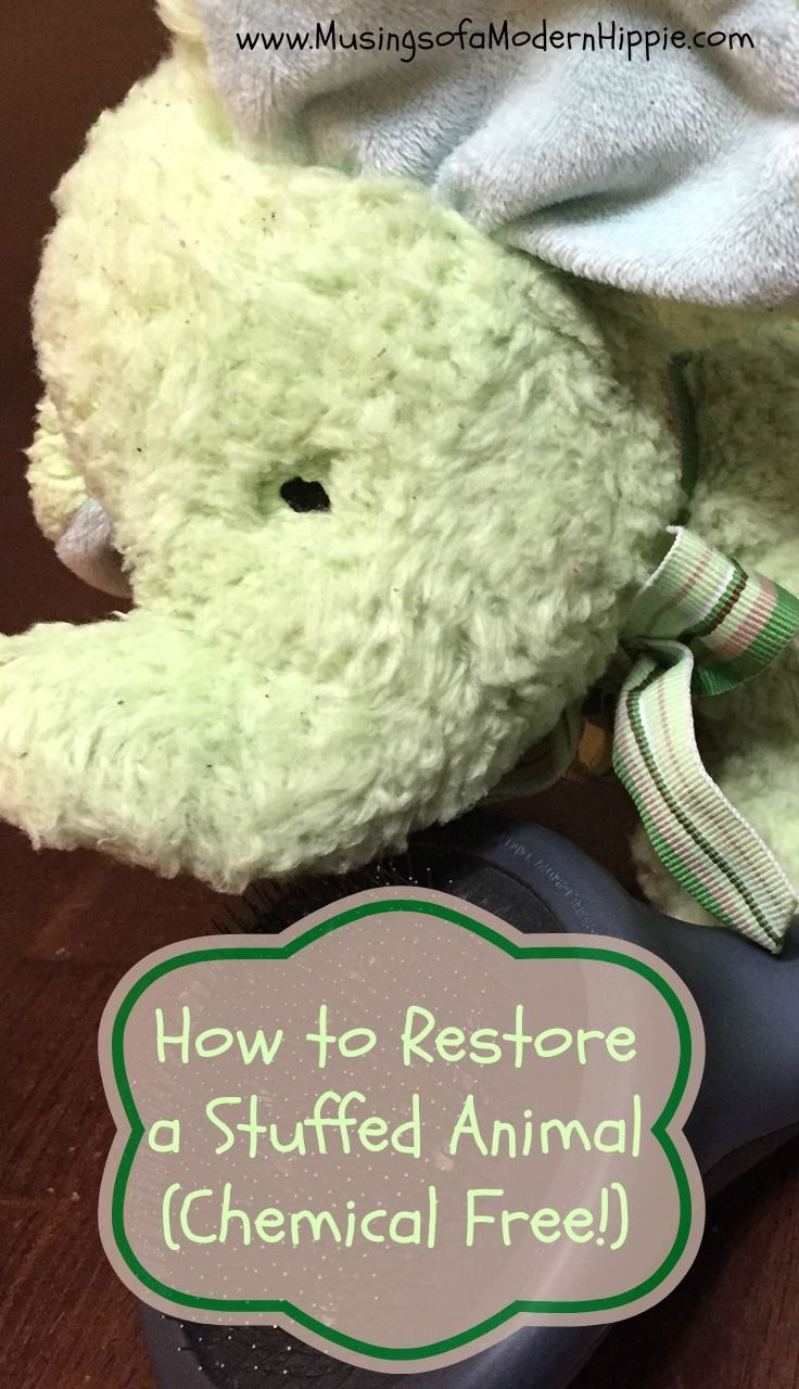 How To Restore A Stuffed Animal Chemical Free Clean Stuffed Animals Fluffy Stuffed Animals Knitted Stuffed Animals