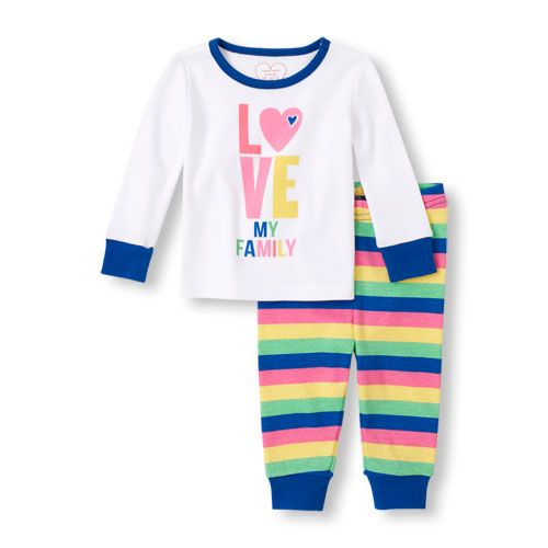 Real Love Girls 2-Piece Pants Set Outfit