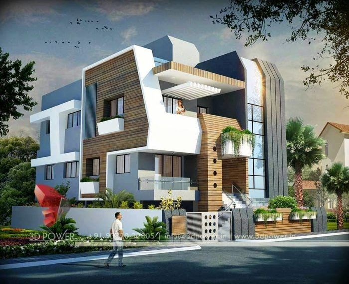 25 Awesome Examples Of Modern House Modern House Exterior Modern Architecture House House Exterior