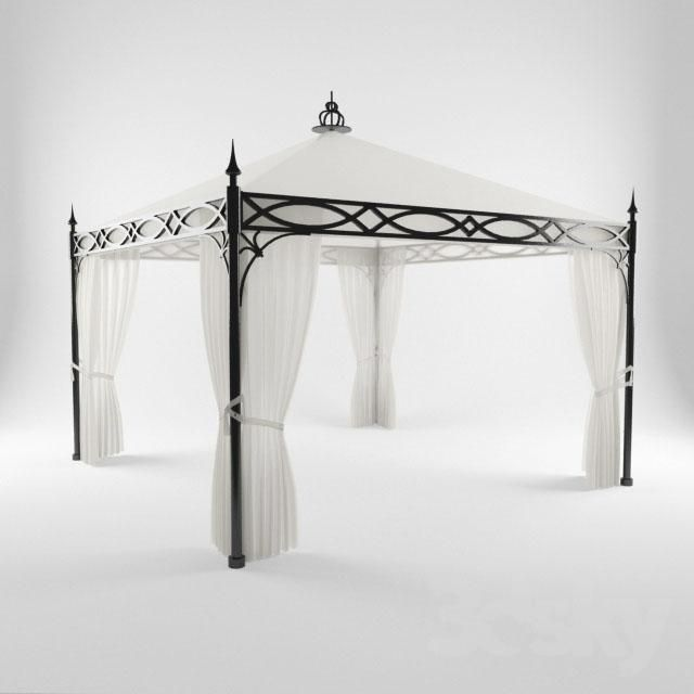 Wrought Iron Gazebo Arcos De Jardin Decoracion De Exteriores