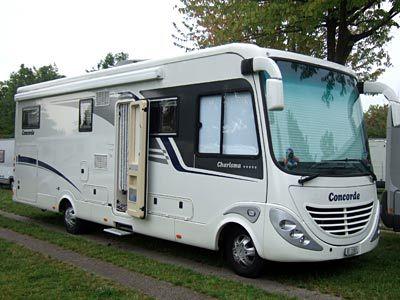 Concorde Motorhome Campers Motorhome Rv Financing Caravan