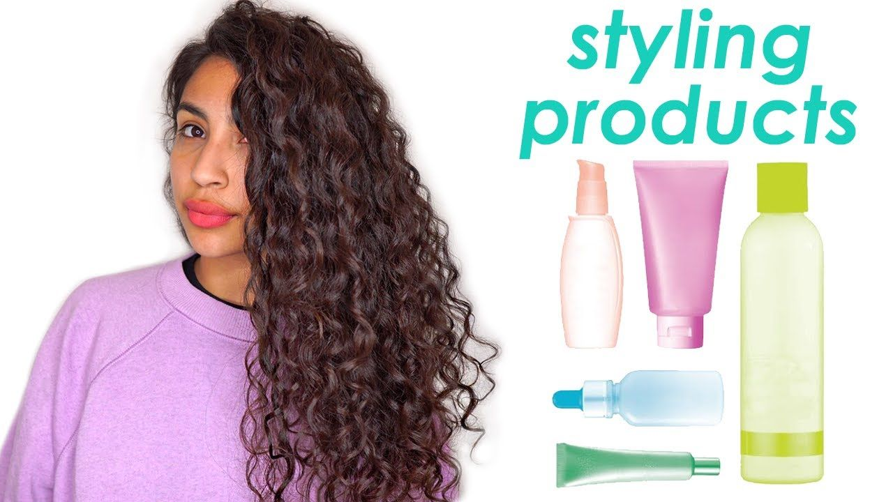 Types Of Curly Hair Styling Products Youtube In 2020 Hair Styles Hair Curly Hair Styles