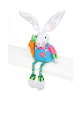Home Accents  2A DANGLE LEG BUNNY