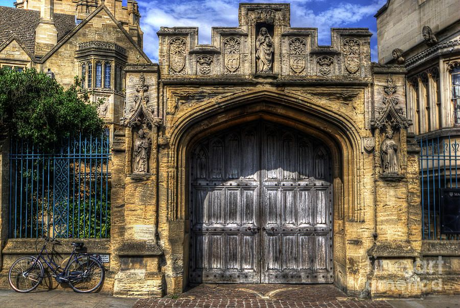 Magdalen College Door - Oxford by Yhun Suarez & magdalen-college-door--oxford-yhun-suarez.jpg 900×603 Pixel ...