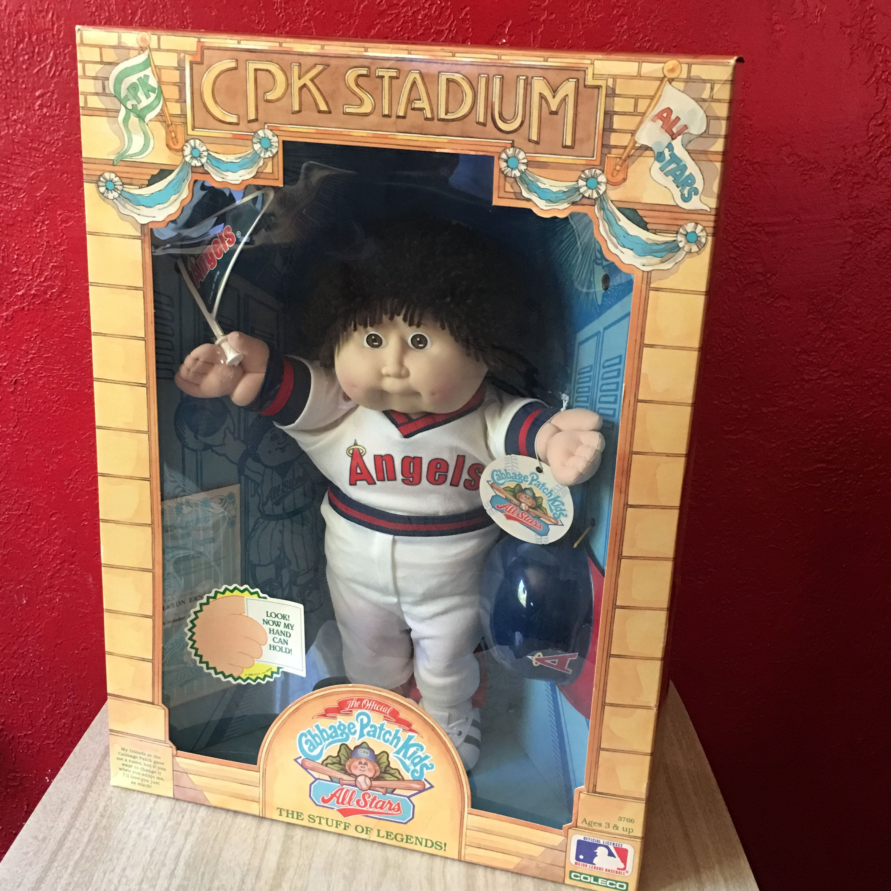 Cabbage Patch Kids California All Stars Angels 1986 Doll Cpk Etsy Cabbage Patch Kids Patch Kids Kids