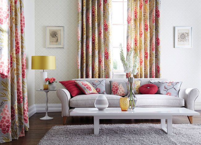17 Best images about Kee Interiors - Harlequin Delphine Fabrics on ...