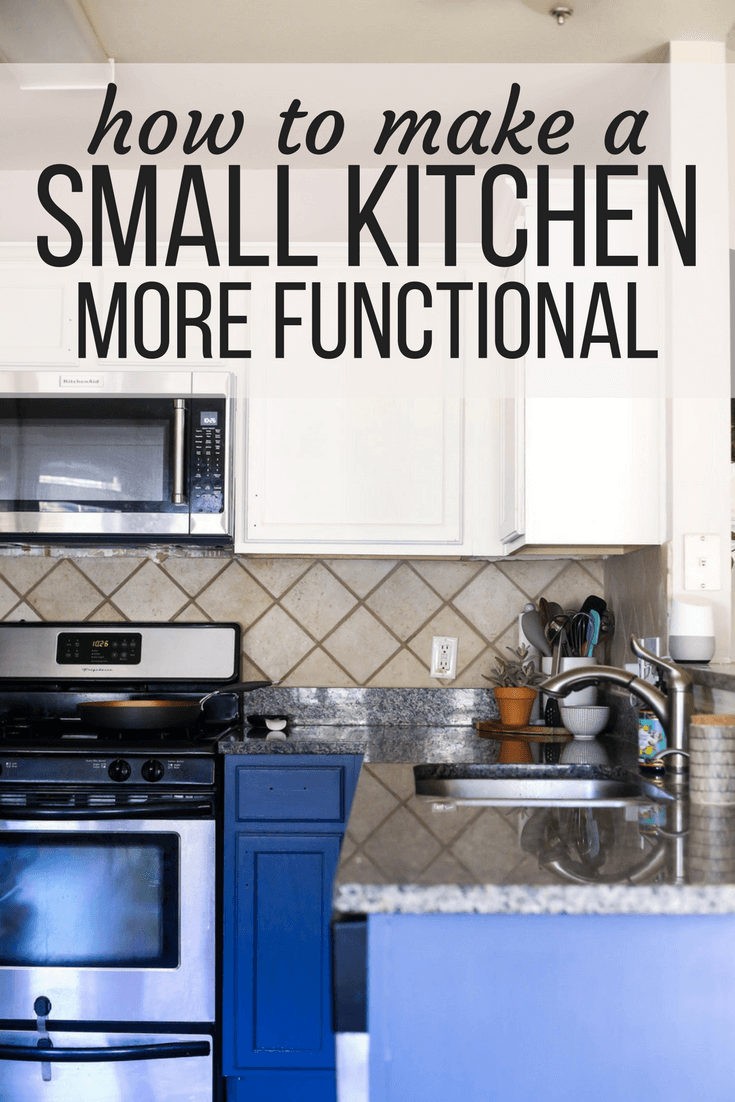 Organizing A Small Kitchen 5 Quick Tips For Keeping Your Small Kitchen Organized And Functiona Small Kitchen Small Kitchen Counter Small Kitchen Organization