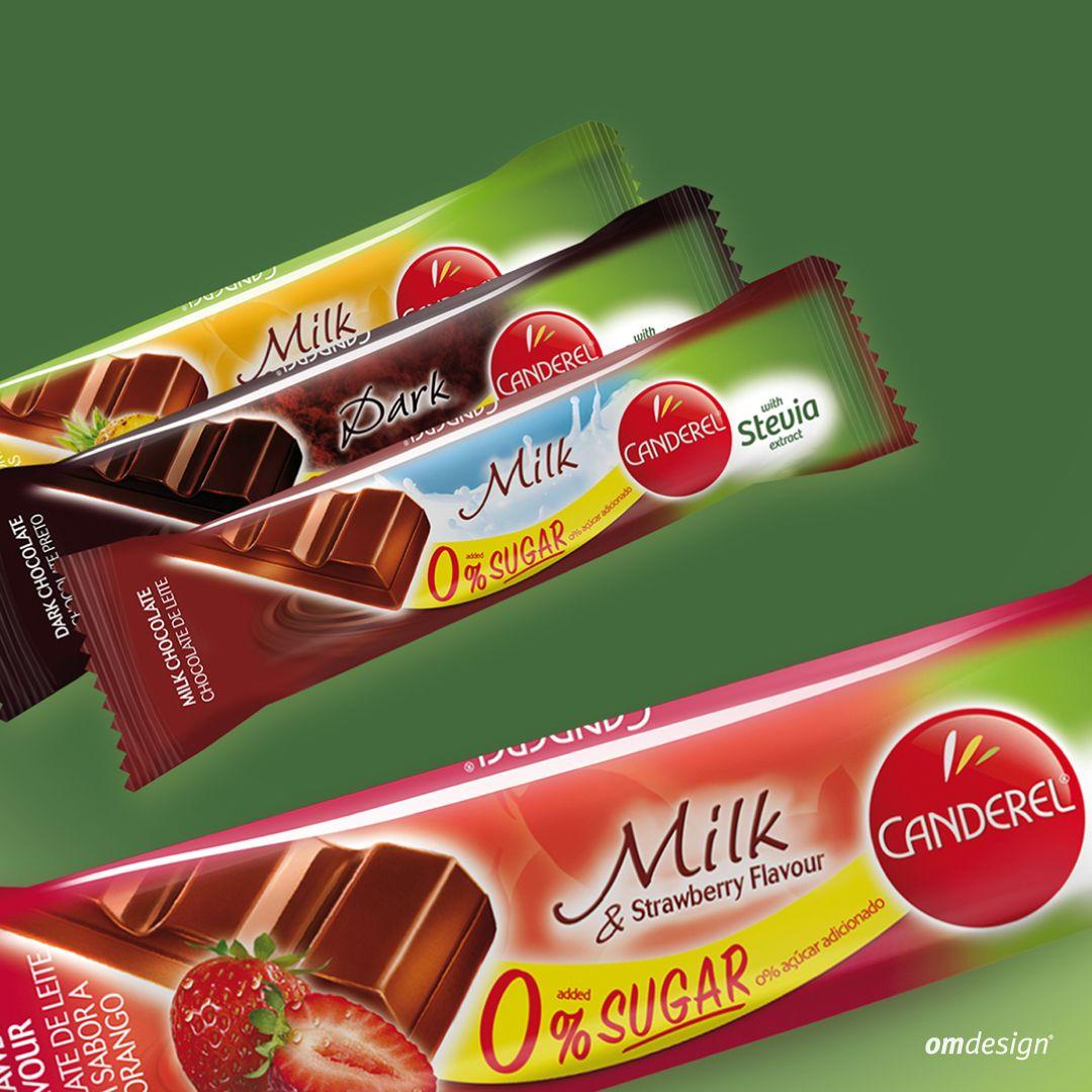 Snacks Canderel Stevia (2015)  #Omdesign #Design #Portugal #LeçadaPalmeira #Since1998 #AwardedAgency #DesignAwards #Branding #Chocolates #Canderel  #ChocolatesCanderel #CanderelStevia #Stevia #Imperial #PortugalFoods