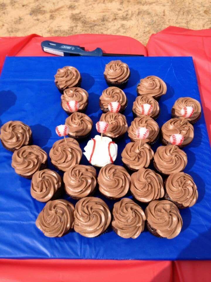 Rexs bday cupcakes 2013
