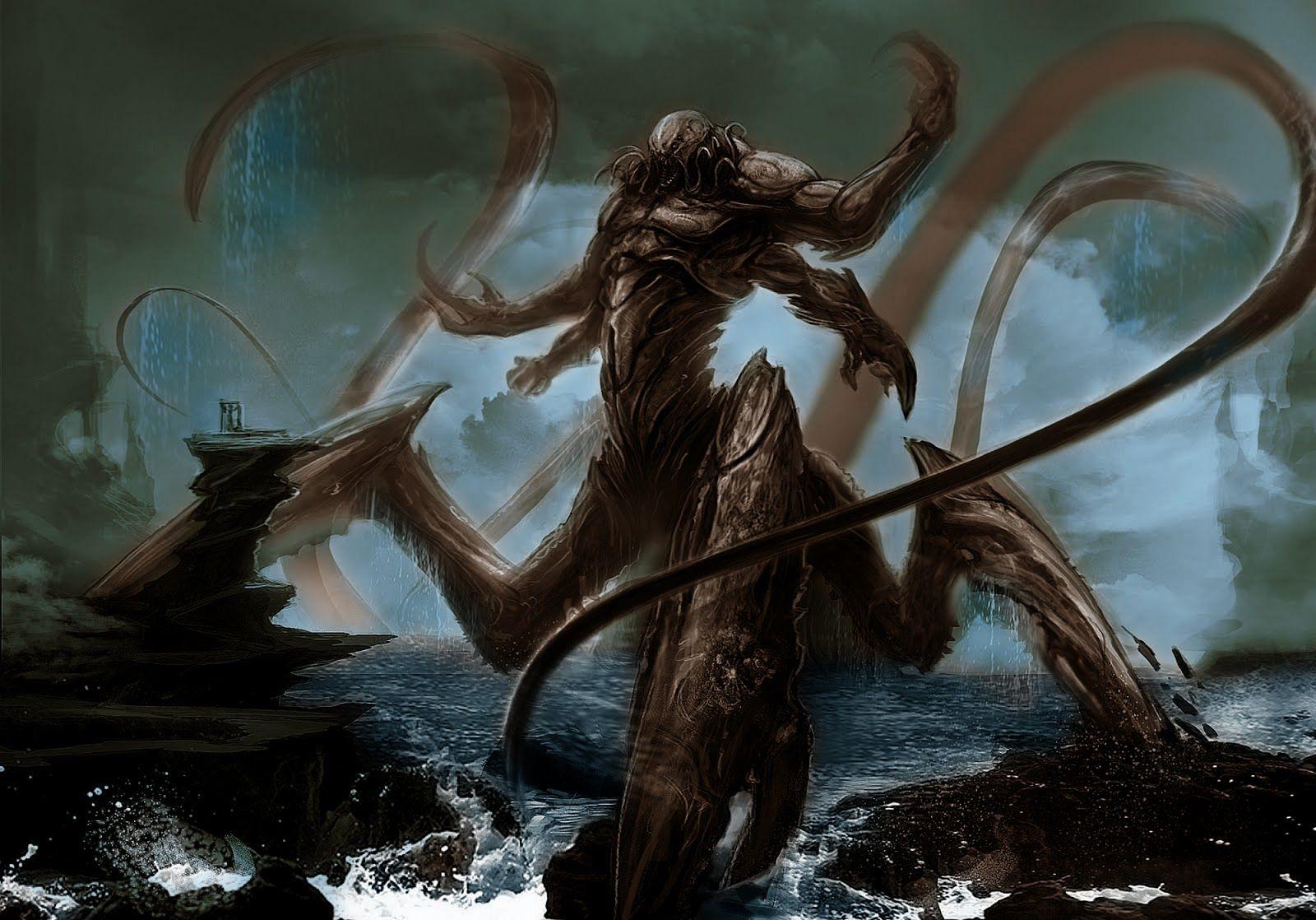 Pirate Campaign D D Kraken Desktop Pictures Wallpaper