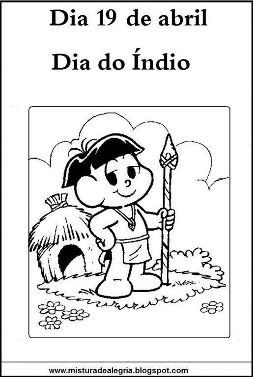 Indios Do Brasil Atividades Variadas 19 De Abril Atividade