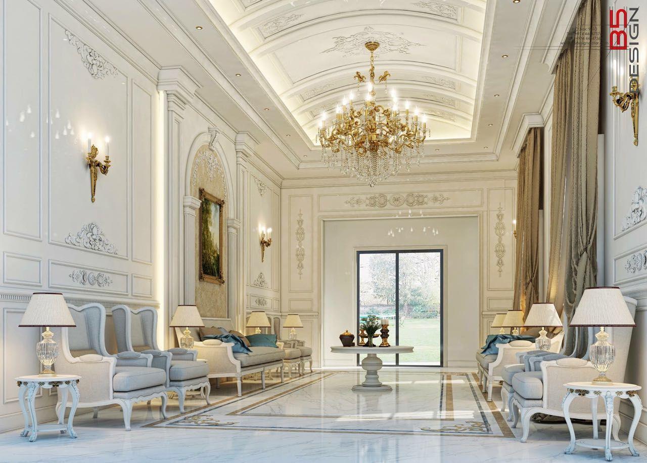 Majlis design private villa doha qatar