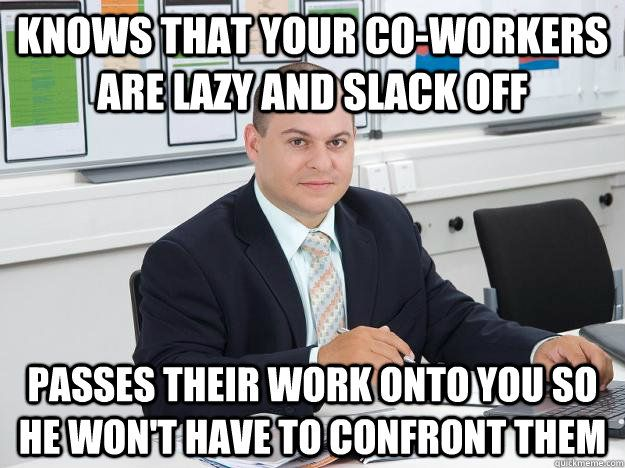 lazy manager meme - photo #1