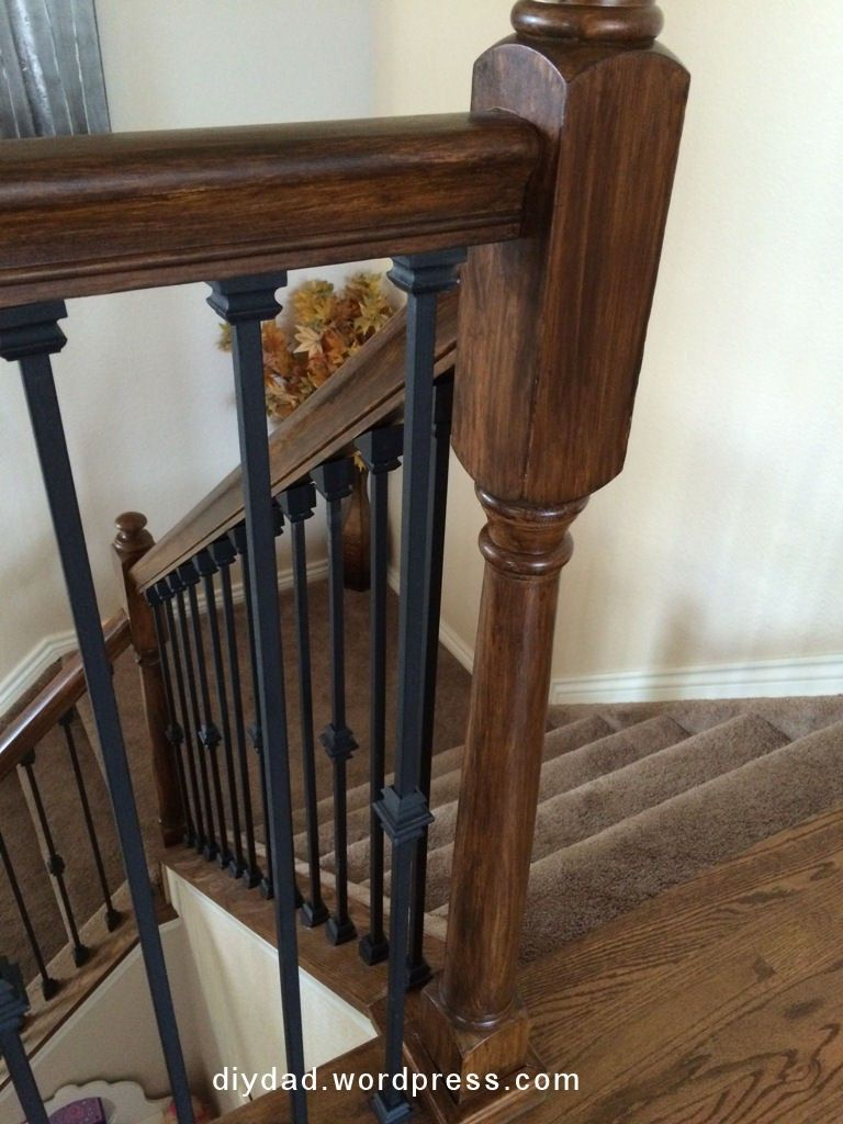 Best Replacing Wood Balusters With Wrought Iron Sort Of 640 x 480
