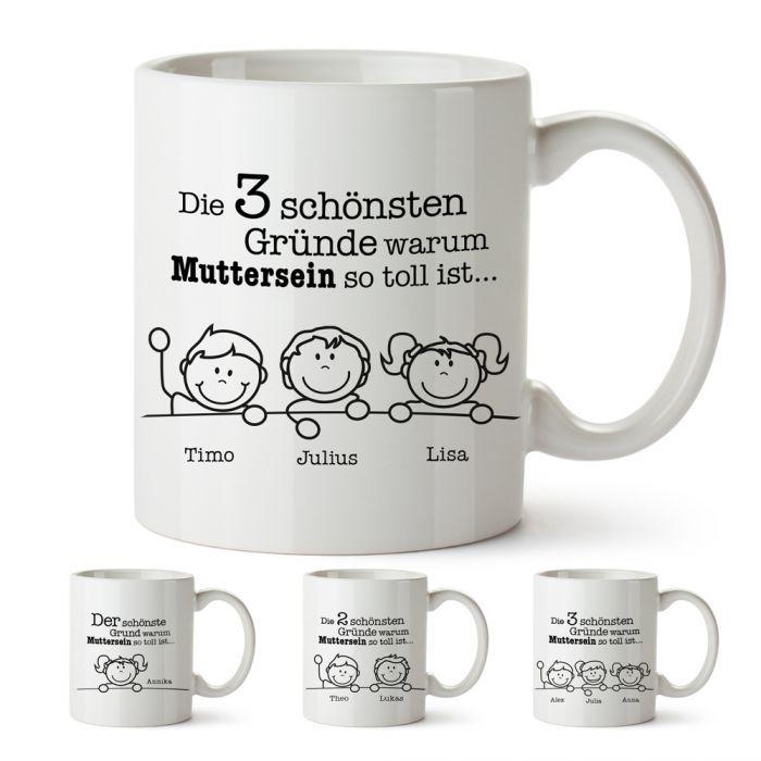 Tasse - Warum Muttersein so toll ist   coole Geschenkideen ...