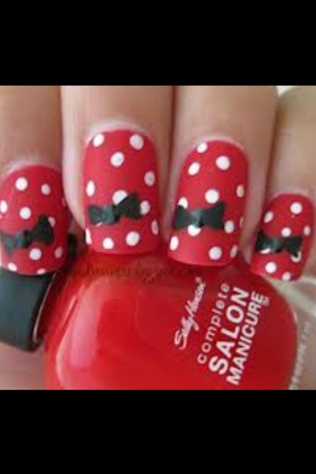 Bows are fabulous enough but the polka dots!! Perfection!