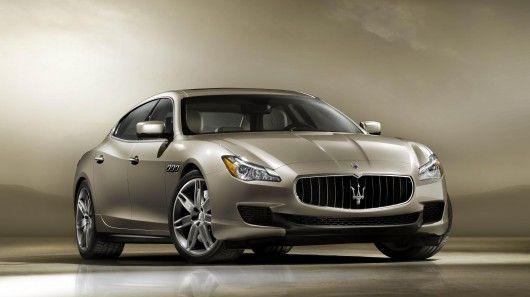 Maserati previews newly styled and powered Quattroporte sedan - http://www.gizmag.com/maserati-quattroporte-sedan-preview/24898/