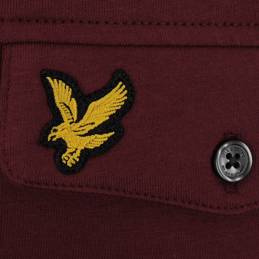 Lyle And Scott Sale Items Pocket Polo T Shirt Red Ampamp Shirts Clothes Mainline