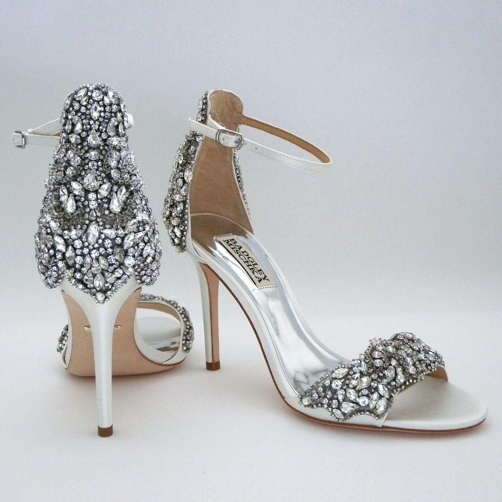 Badgley mischka shoes wedding, Bridal