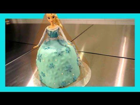 Barbie kuchen elsa