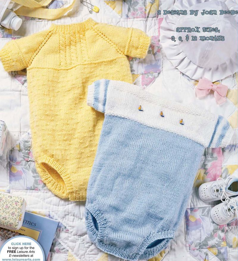 6f6a7fd8d32 Free Knitting Pattern for Cabled and Sailor Baby Bubble Suits   Onesies    Rompers - Free