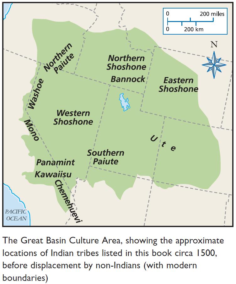 Great Basin Culture @ Ya-Native.com | Tribal Maps | Native ...