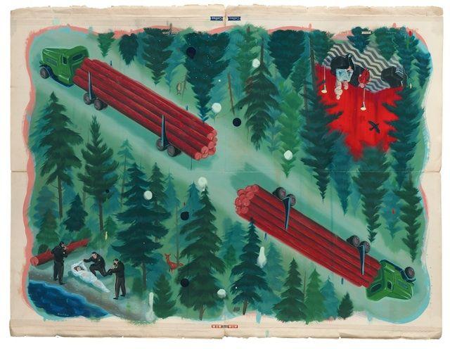 n the Trees: Twin Peaks 20th Anniversary Art Show