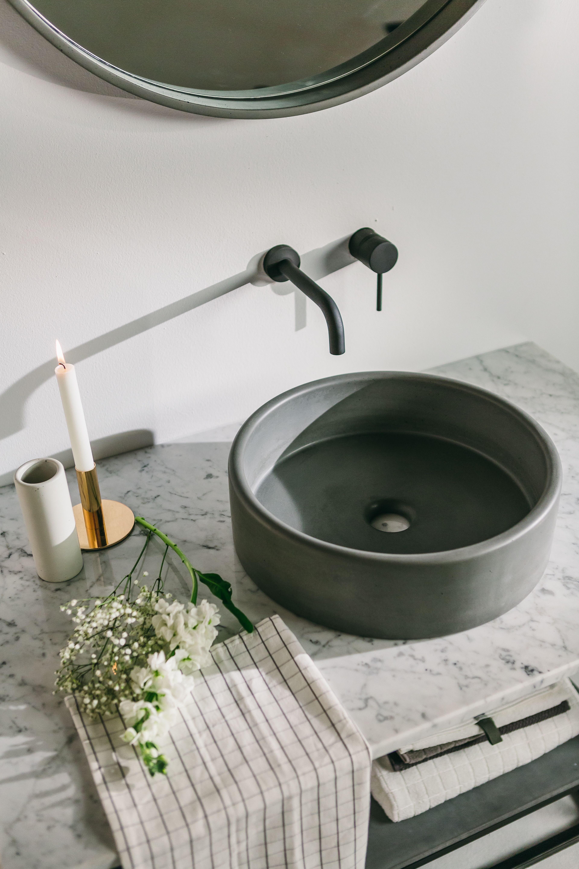 Concrete Sinks In 14 Dreamy Colours Get A Modern Nood Co Basin Bathroom Sink Bowls Bathroom Sink Small Bathroom Sinks