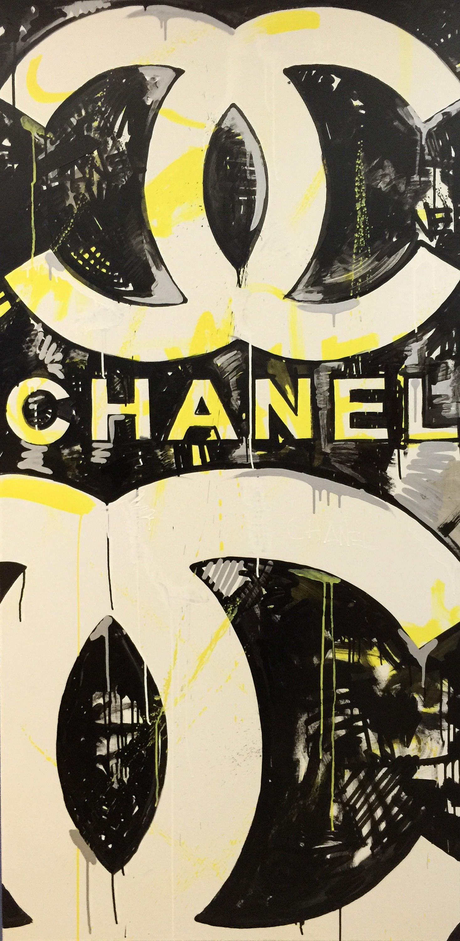 Chanel art pop art by matt pecson chanel wall art chanel painting chanel bedroom decor best selling items made to order by matt pecson on etsy