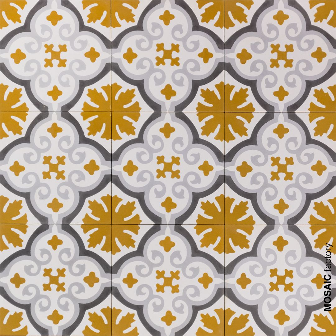 Bright Mosaic del Sur cement tiles reference 10200 available in ...