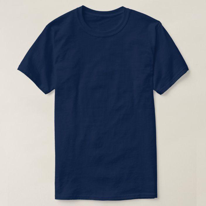 5x Plus Size Plain Navy Blue T Shirt Zazzle Com In 2021 Plain Red T Shirt Navy Blue T Shirt Shirts