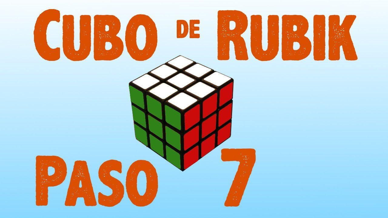 Resolver cubo de Rubik: Paso 7