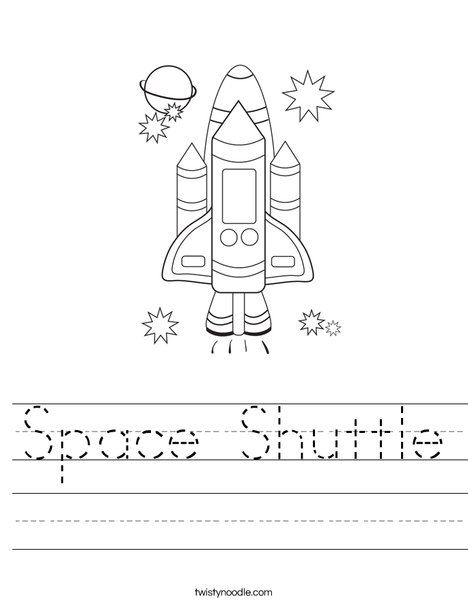 Space Shuttle Worksheet Space Activities For Kids Space Activities Space Shuttle