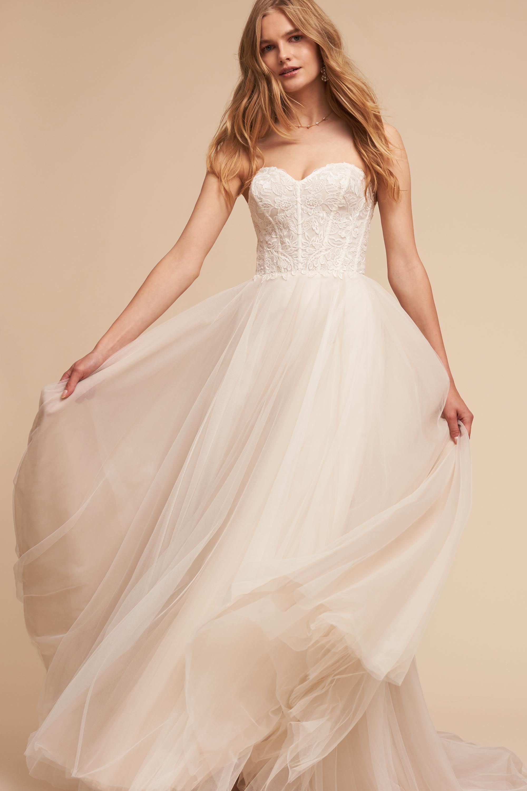Rowland Gown from @BHLDN   Pirate Wedding Dresses   Pinterest