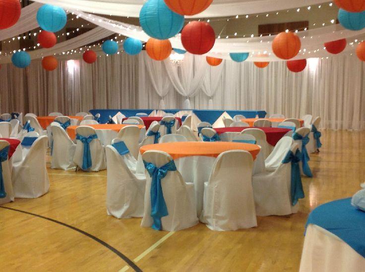 Lds wedding reception lds wedding reception in gymge one day my wedding decor church junglespirit Gallery